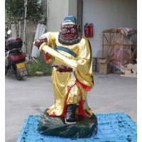 钟馗神像树脂玻璃钢彩绘贴金河南亚博里面的AG真人厂直销
