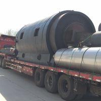 商丘炼油设备厂家 可定制废塑料轮胎造纸厂下脚料橡胶电缆皮炼油