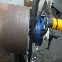 内涨式电动坡口机管道倒角机250管子坡口机Y型便携式管子坡口机操作简单效率极高