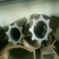 异型管厂家供应45#六角管 定做外六角内圆异型管 20#八角空心管