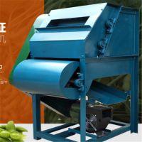 毛豆果秧分离机 移动式鲜大豆脱荚机 油电毛豆采摘机