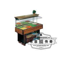 木制自助餐台 布菲专业定制自助餐台设计定制 自助餐设备