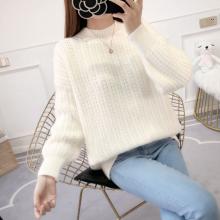 两三块钱毛衣货源广东秋季女装批发工厂库存整单毛衣开衫女士小衫大量供应