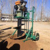 大棚立柱钻眼机/汽油二冲程植树挖坑机/葡萄立柱埋桩机批发