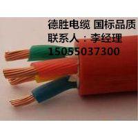 德胜KGGP铜芯硅橡胶绝缘护套编织屏蔽控制电缆1*150mm2口碑商家