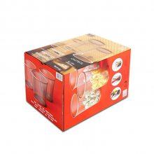 定制柯式印刷白卡纸瓦楞盒彩色方形折叠纸盒数码蓝牙音箱包装盒