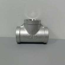 304不锈钢铸件三通 304不锈钢丝扣弯头DN25