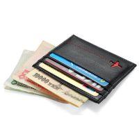 创意飞机男士小卡包卡套超薄小钱包真皮零钱包女士牛皮银行卡夹