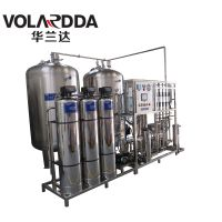 供应双级反渗透+EDI工艺纯化水处理技术 华兰达超纯水设备外形设计精致美观