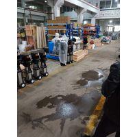 调试多级泵功率流量100CDLF60-70工程地下室冲压泵设备/上海江洋牌轻型多级泵