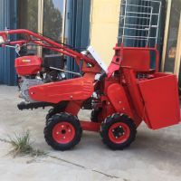 山地玉米收割机 手推式玉米收获机 厂家直销掰玉米棒子机器价格