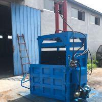 60吨双缸可乐瓶液压打包机 废旧铝合金打包压缩机 立式油桶压扁机厂家