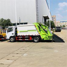 东风多利卡小型6方压缩挂桶式垃圾车报价垃圾清运车车价格