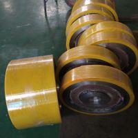 高耐磨聚氨酯包胶辊筒 聚氨酯胶轴定制 聚氨酯胶辊厂家