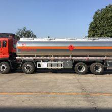铝合金油罐车厂家,东风天龙铝合金油罐车,30吨前四后八运油车价格