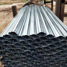 山东聊城供应天津冷拔异型钢管厂家%冷拔扇形管%镀锌梯型异型管定尺