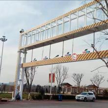 商丘梁园区 高速智能限高架 液压升降限高架 桥东交通限高杆 路口限高杆 厂家直销 质优价廉