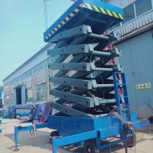 长治移动式升降机厂家 四轮电瓶式液压升降台 维修专用高空作业平台