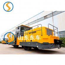 东大动力钛管公铁两用牵引车离合器和悬挂装置等配置