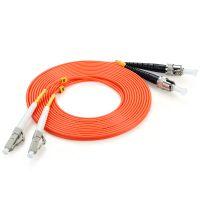 电信级光纤跳线 LC-ST网线多模双芯 收发器尾纤 FMC-206