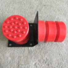 JHQ-C-5法兰盘式聚氨酯缓冲器 电梯大车缓冲器 机械配件 宏昌