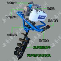 电线杆挖坑机 便携式小型电动挖树机 瑞鑫可定做四轮拖拉机挖坑机