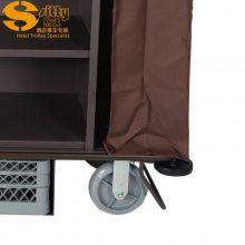 专业生产SITTY斯迪99.7815铁制清洁服务车/房间清洁车/酒店房口车