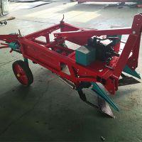 拖拉机后置链条大蒜收获机 垄上平地花生收获机 一机多用
