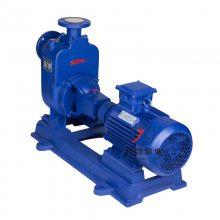 上海泉森水泵 ZW型自吸泵批发多少钱 无堵塞排污泵化粪池泵化工泵