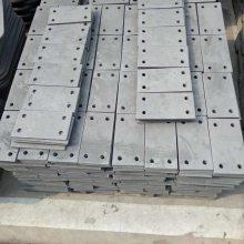 桥面系小型构件 声屏障遮板预埋件 遮板栏杆预埋件 地脚螺栓 牛腿槽钢 预埋T钢45#