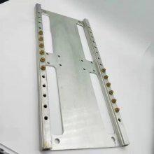 东莞厂家供应双联式火排配件火排任意尺寸定做加工铝型材火排定做