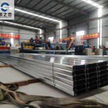 上海新之杰压型板厂引进YXB65-167-500闭口楼承板生产线