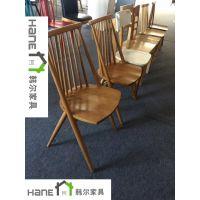 厂家批量定做实木椅子中餐厅西餐厅料理店火锅店茶餐厅实木椅子