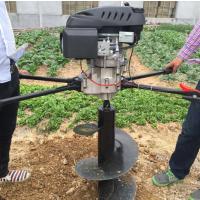 英达轮式旋挖机 质量保证 水泥杆挖坑机厂家