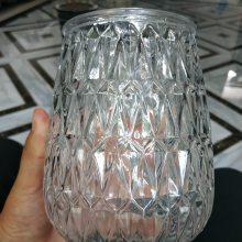 奥格玻璃 供应玻璃烛台 玻璃蜡烛台 蜡烛玻璃瓶 蜡烛杯 烛台/蜡罐 工艺品瓶/香薰蜡罐