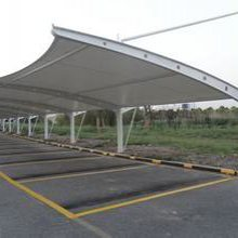 停车棚厂家-创锦帆装饰膜结构-张家港车棚