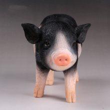 树脂仿真动物摆件定制 家居装饰树脂工艺品定做 pvc模型塑胶动物批发厂家