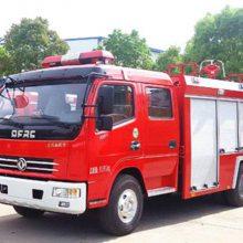 湖北江南东风多利卡4吨水罐消防车-消防车厂家-水罐消防车价格