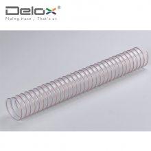 IPL 食品级钢丝PU管_耐磨粉料管_聚氨酯输料管
