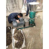 平模草粉颗粒机 小型秸秆饲料颗粒机