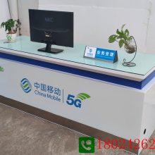 新款受理台5g华为手机柜台展示柜定做厂家荣耀手机柜