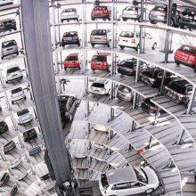 上海回收大量二手机械设备停车位 多层循环垂直立体车库