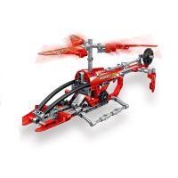 昇得利SDL拼装插积木直升机diy组装积木儿童益智科教玩具2018A-1