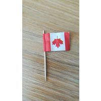 供应国旗造型工艺牙签伞,饮品装饰