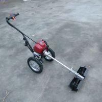 茶园地松土除草机 背负式四冲程汽油割灌机 小型青稞水稻收割设备