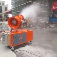 建筑工地除尘雾炮机 风送式喷雾机 手控遥控雾炮机厂家 森泰