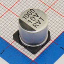 焊片式铝电解电容-容强电子公司-片式铝电解电容