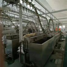 山西鸡自动屠宰生产线 鸭宰杀流水线设备 家禽自动屠宰流水线定制