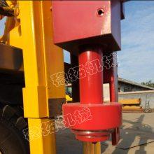 铲车式公路护栏板打桩机直销款液压护栏打桩机 装载式护栏打桩机