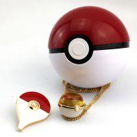 PokemonG0宠物小精灵项链 精灵三色水晶吊坠首饰套装 精灵批发